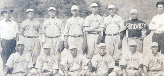 The 1921 Lobelville baseball team & future pro Jack Duff
