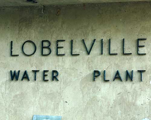 Lobelville Water Treatment Plant