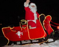 Santa Claus is Coming to Lobelville